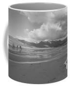 Visitors To The Sand Dunes Coffee Mug