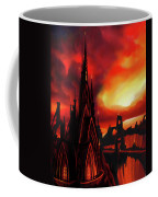 Volcano Castle Coffee Mug
