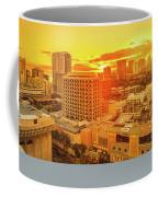 Waikiki City Sunset Coffee Mug