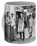 Walking Billboard Nevada Club Reno Nevada 1977 Coffee Mug