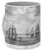 War Of 1812: Sea Battle Coffee Mug
