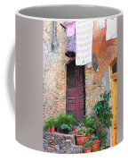 Washing Day Tuscany Coffee Mug
