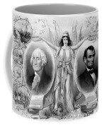 Washington And Lincoln Coffee Mug