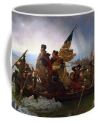 Washington Crossing The Delaware Coffee Mug by Emanuel Leutze