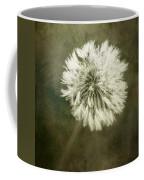 Water Drops On Dandelion Flower Coffee Mug