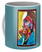 Water Healing Ceremonial Chief Yaz Coffee Mug