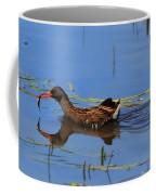 Water Rail With Fish Coffee Mug