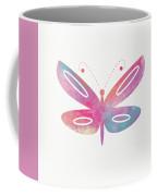 Watercolor Butterfly 2- Art By Linda Woods Coffee Mug