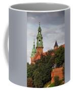 Wawel Royal Castle In Krakow Coffee Mug