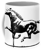 Weathervane, 19th Century Coffee Mug