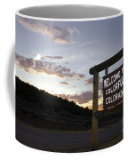 Welcome To Colorful Colorado Coffee Mug