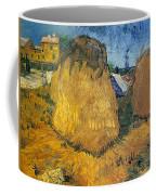 Wheat Stacks In Provence Coffee Mug