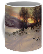 When The West With Evening Glows Coffee Mug by Joseph Farquharson