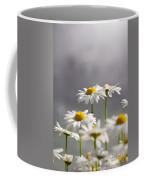 White Daisies Coffee Mug by Carlos Caetano