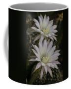 White Echinopsis Coffee Mug