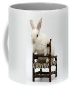White Rabbit  Coffee Mug