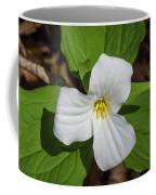 White Trillium 3 Coffee Mug