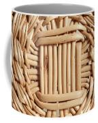 Wicker Basket Coffee Mug
