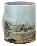 Windsor Castle From The Eton Shore Coffee Mug