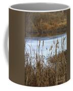 Winter Cattails Coffee Mug