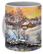 Winter Evening. Coffee Mug