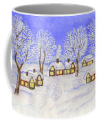 Winter Landscape, Painting Coffee Mug