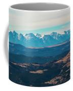 Winter Sangre De Cristo Mountains Coffee Mug