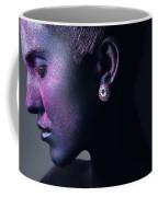 Woman In Purple Powder Coffee Mug