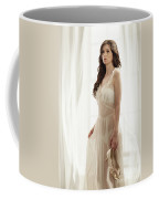 Woman In Vintage Negligee Coffee Mug