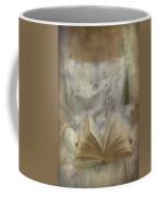 Woman With A Book Coffee Mug by Joana Kruse