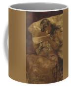 Woman With Dove Coffee Mug