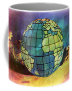 World Displayed Coffee Mug