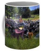 Wrecking Yard Study 9 Coffee Mug