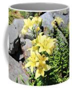 Yellow Day Lillies Coffee Mug
