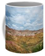 Yellow Mounds Of Badlands Np Coffee Mug