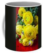 Yellow Ranunculus Coffee Mug