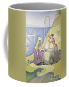 Young Women Of Provence At The Well, 1892 Coffee Mug