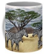 Zebra African Outback  Coffee Mug