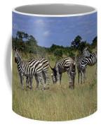 Zebra Group Coffee Mug