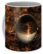 10-17-16--8585 The Moon, Don't Drop The Crystal Ball, Crystal Ball Photography Coffee Mug
