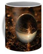 10-17-16--8590 The Moon, Don't Drop The Crystal Ball, Crystal Ball Photography Coffee Mug