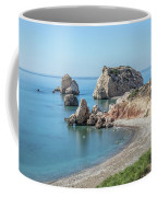 Aphrodite's Rock - Cyprus Coffee Mug