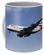 British Airways Airbus A380 Coffee Mug