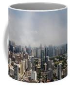 Chicago Skyline Aerial Photo Coffee Mug