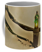 Christmas Fairy Lights On Snow Coffee Mug