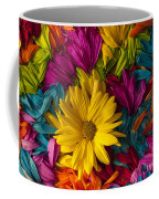 Daisy Petals Abstracts Coffee Mug