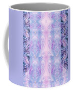 Floral Abstract Design-special Silk Fabric Coffee Mug
