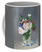 Flowers In A Crystal Vase Coffee Mug