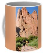 Garden Of The Gods Ten Mile Run In Colorado Springs Coffee Mug