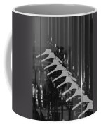 10 Hangers In Black And White Coffee Mug